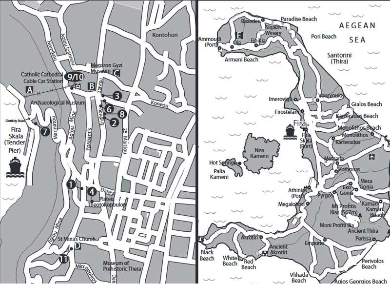 Übersicht über Stadt und Insel