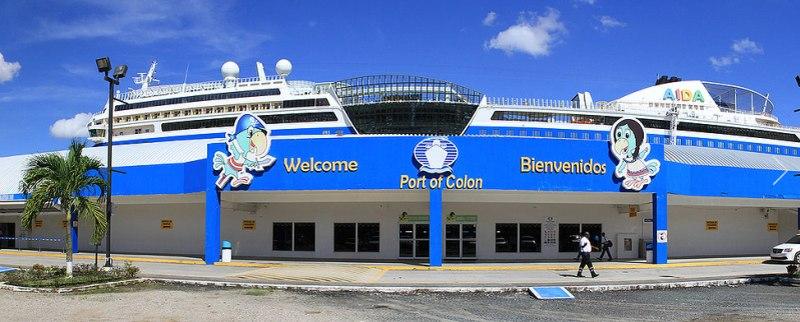 AIDA Cruises ist häufig vor Ort