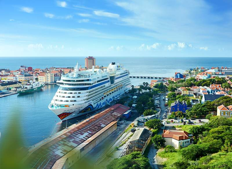 AIDAdiva in Willemstad