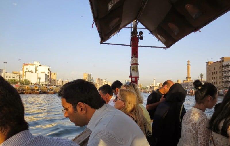 Abra auf dem Dubai Creek