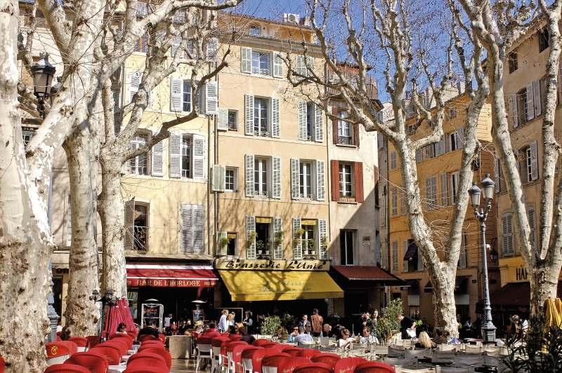 Landausflüge nach Aix-en-Provence
