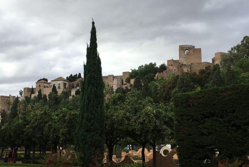 Alcazaba von Malaga