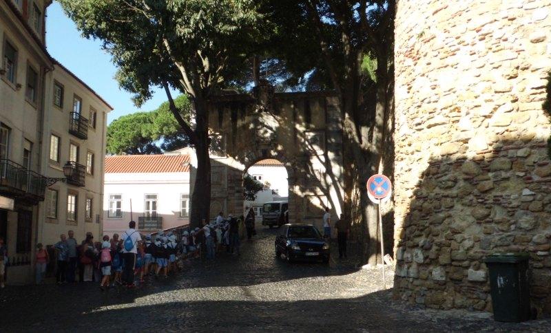 Am Castelo de São Jorge