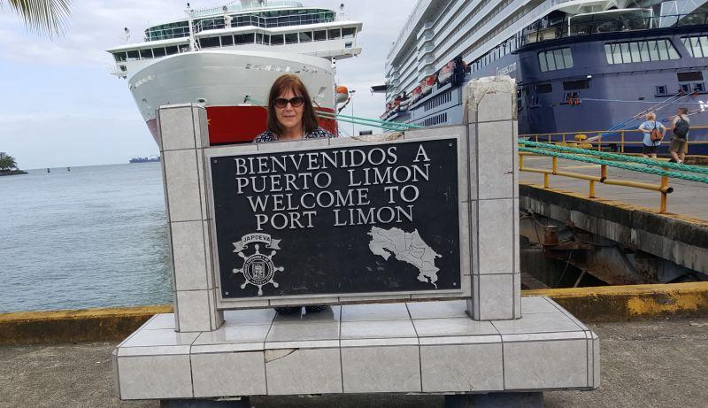 Der Kreuzfahrthafen von Puerto Limon