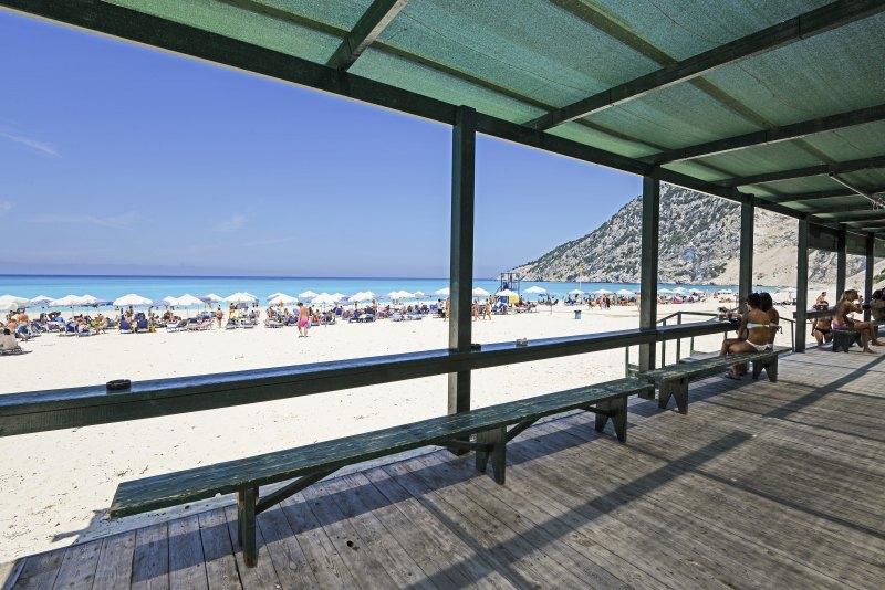 Am Myrtos Strand