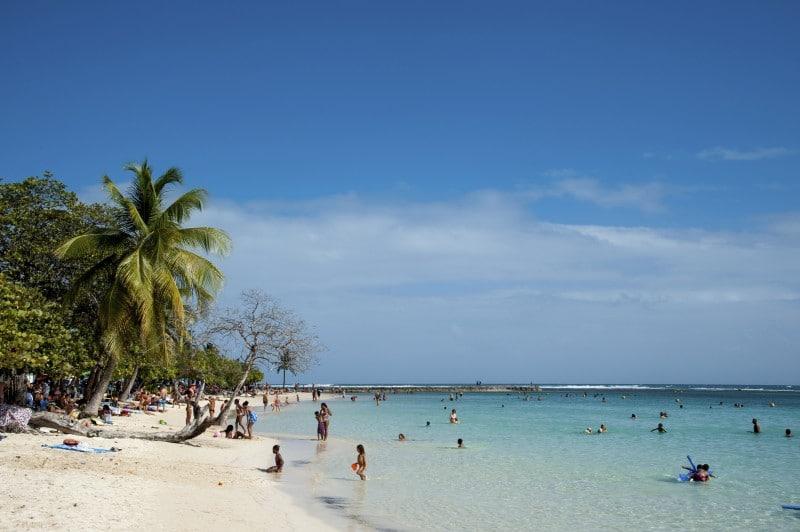 Am Strand von Sainte-Anne