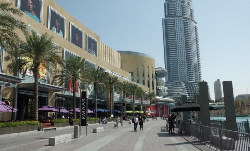 An der Dubai Mall