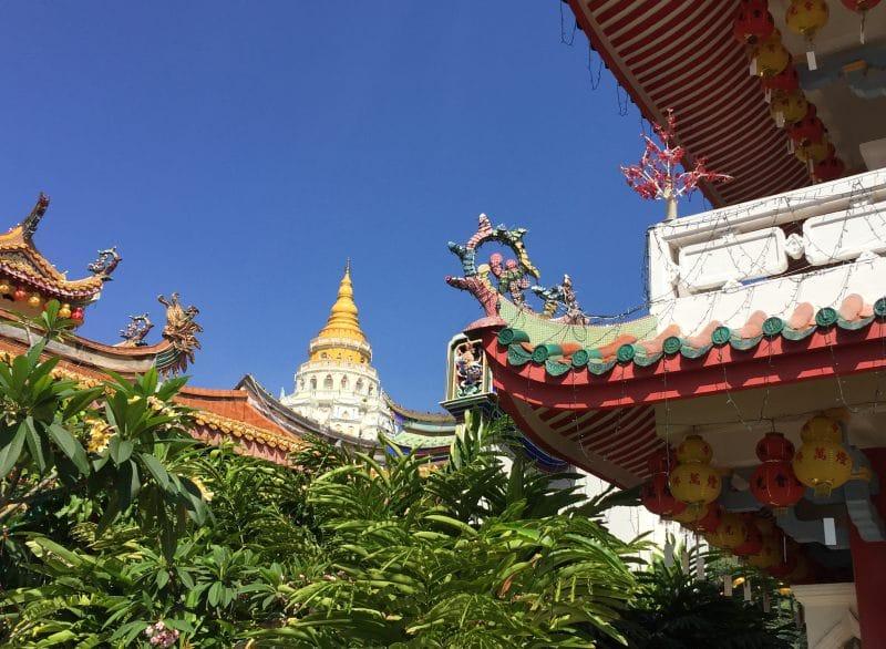 Auf dem Gelände des Kek Lok Si Tempels