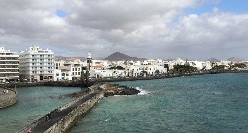 Blick auf Arrecife