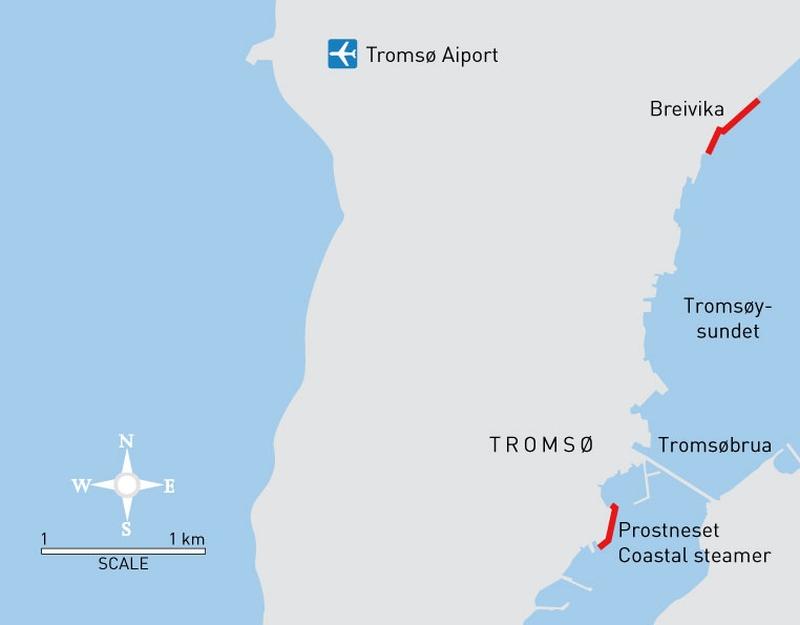 Tromsø auf eigene Faust