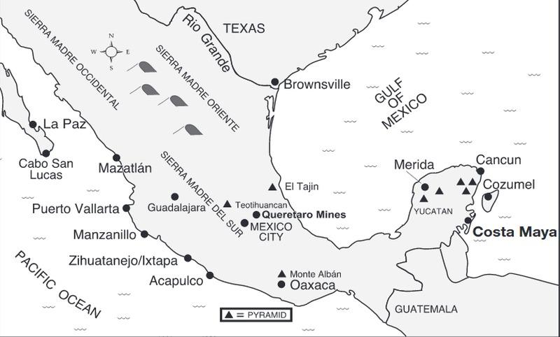 Landausflüge in Costa Maya Port auf eigene Faust