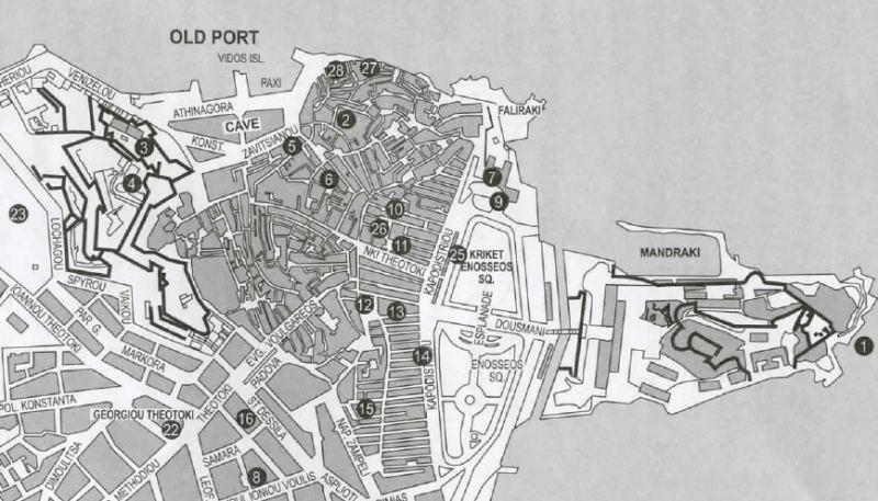 Die Altstadt von Korfu-Stadt