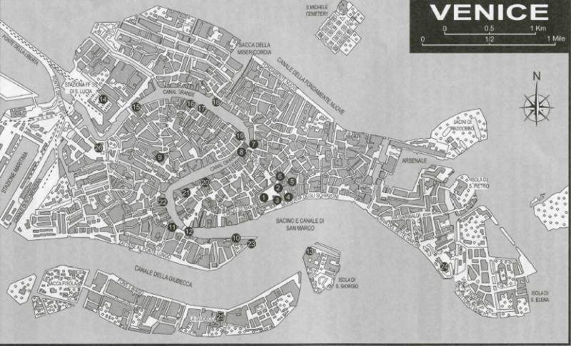 Venedig auf einen Blick