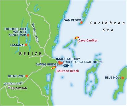 Landausflüge in Belize auf eigene Faust