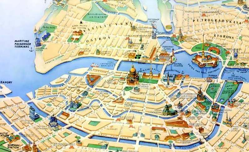 St. Petersburg auf eigene Faust erkunden