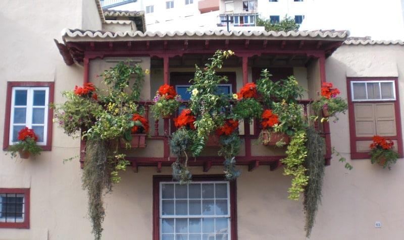 Die Balkonhäuser von Santa Cruz de la Palma