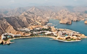Bandar Jissah und Hotels
