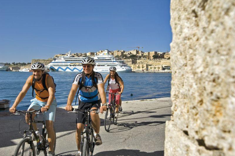 Landausflüge mit dme Bike von AIDA Cruises