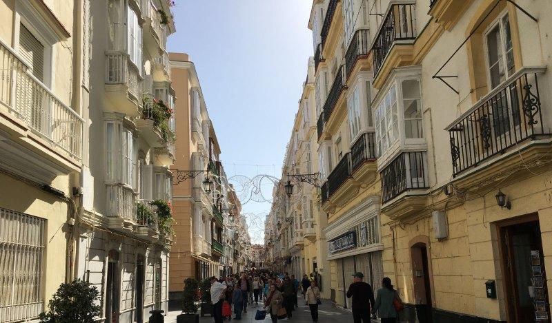 Einkaufen in Cadiz auf eigene Faust