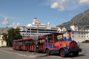 Bimmelbahn am Hafen