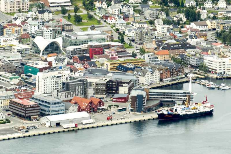 Blick auf das Stadtzentrum