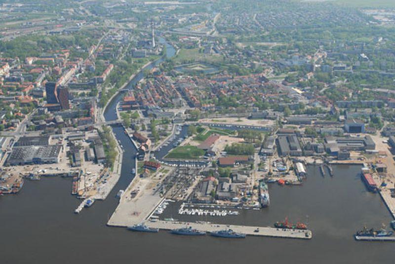 Klaipeda auf eigene Faust vom Hafen aus zu Fuß erkunden