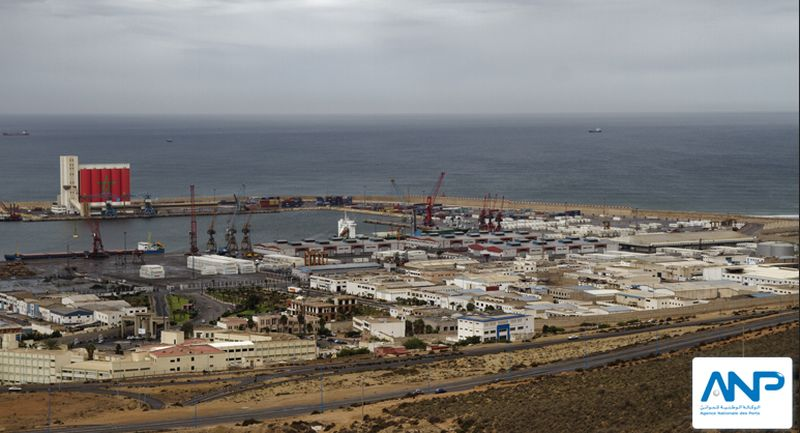 In diesem Teil des Hafens machen Kreuzfahrtschiffe fest