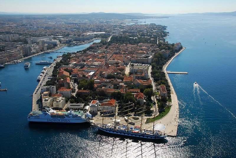 Landausflüge in Zadar auf eigene Faust
