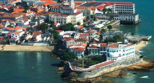 Blick auf die Halbinsel der Altstadt