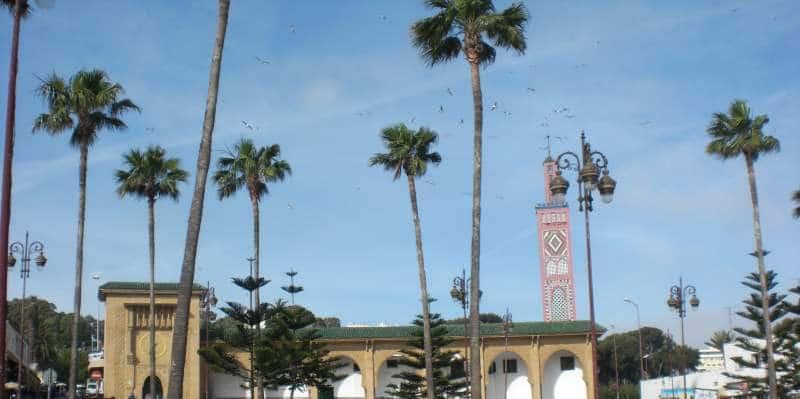 Blick auf die Sidi Bou Abib Mosque