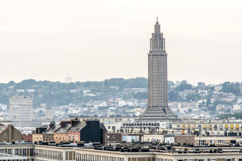 Blick auf Le Havre