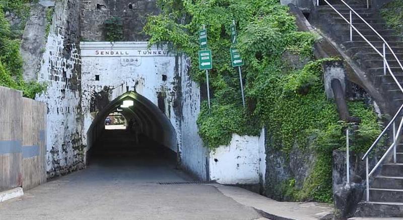 Blick in den Sendall-Tunnel
