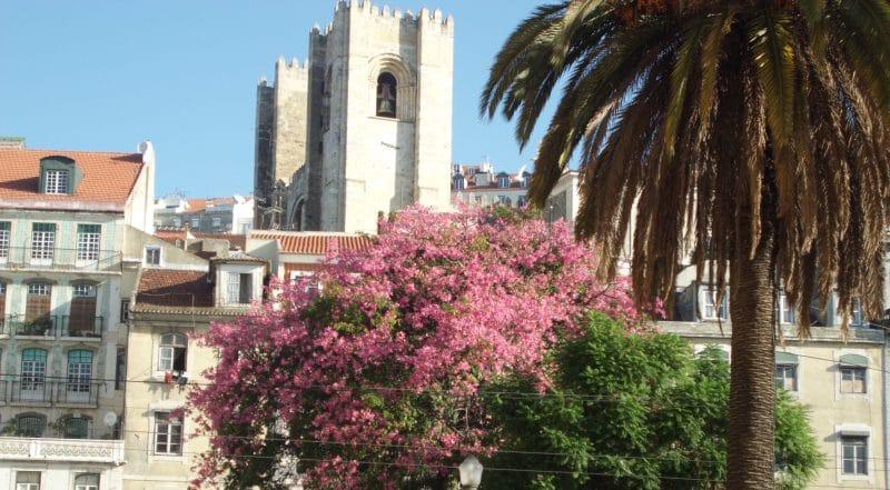 In Lissabon kann man sich auf eigene Faust gut zu Fuß fortbewegen.