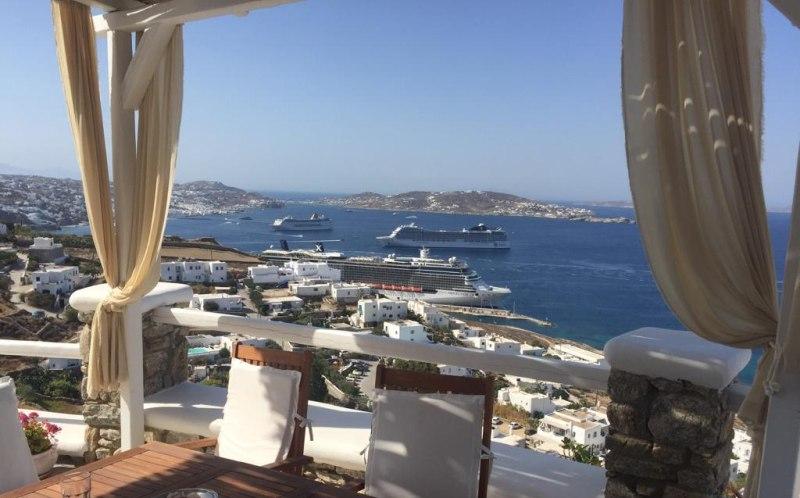 Blick von Agios Stefanos