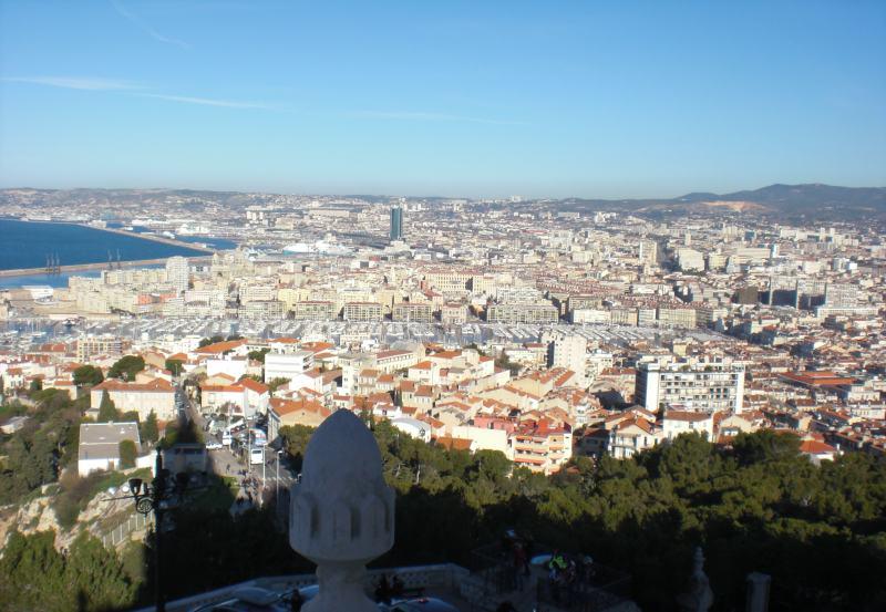 Blick von Notre-Dame de la Garde