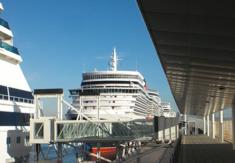 Blick von Terminal D