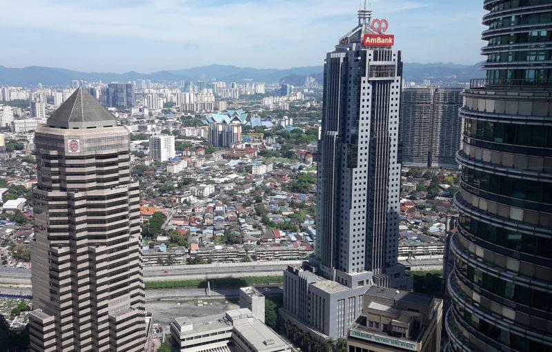Blick von den Petronas Towers