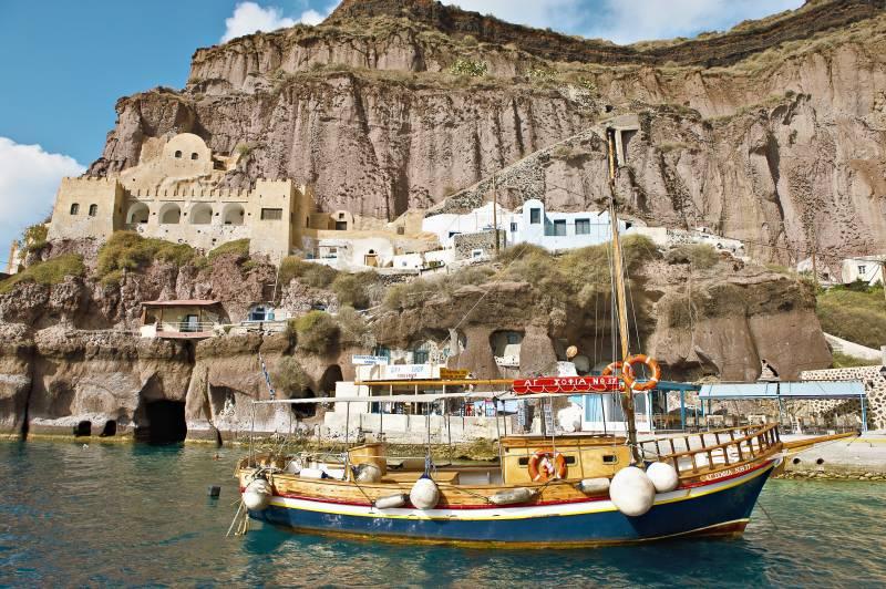 Bootsausflüge auf Santorin
