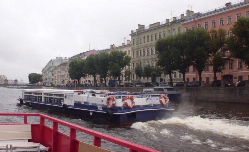 Landausflug in Sankt Petersburg auf der Newa