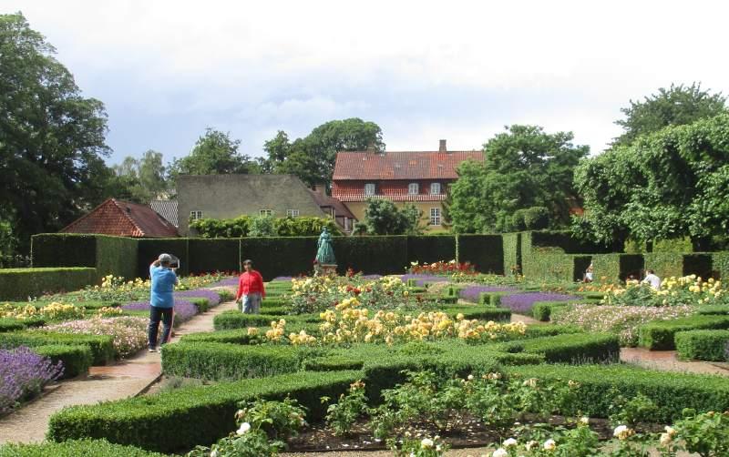 Der Botanische Garten bei Schloss Rosenborg