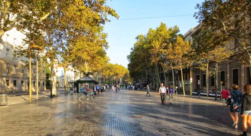 Boulevard Las Ramblas