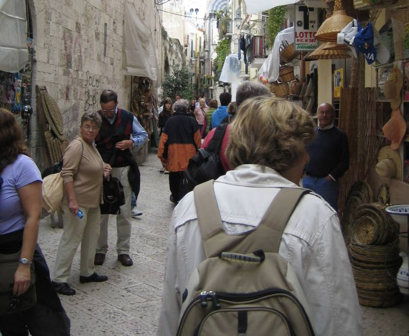 Bummeln durch die Altstadt von Bari