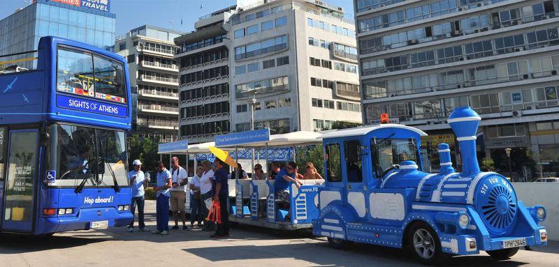 Bus und Bimmelbahn