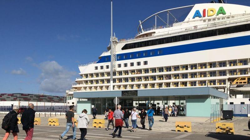 Das zweite Kreuzfahrt-Terminal