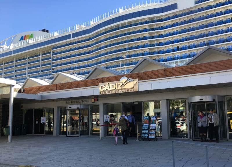 Cadiz Kreuzfahrt-Terminal