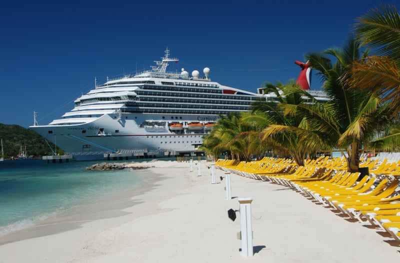 Carnival Cruise Lines ist in der Karibik zuhause