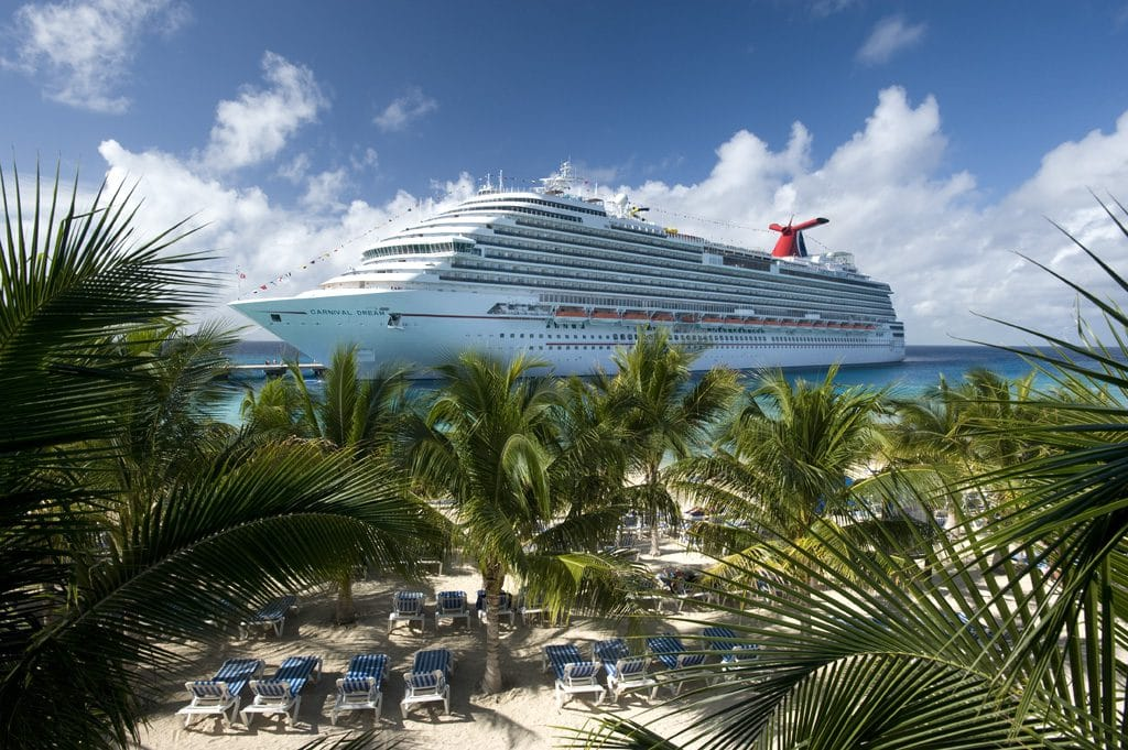Carnival Dream auf Grand Turk