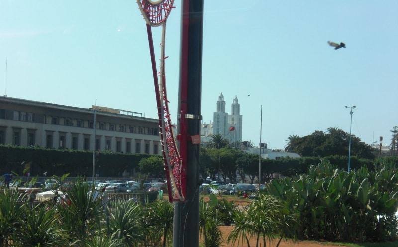 Cathédrale de Casablanca vom Parc de la ligue arab