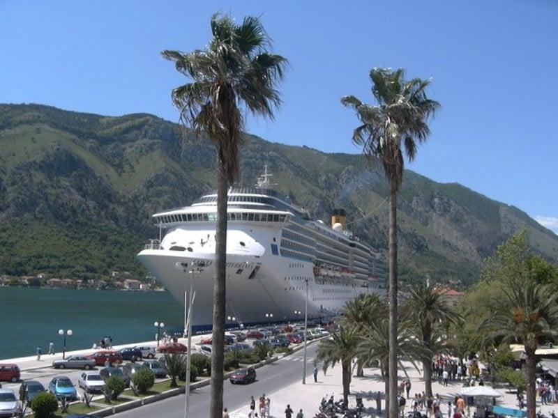 Costa Mediterranea in Kotor