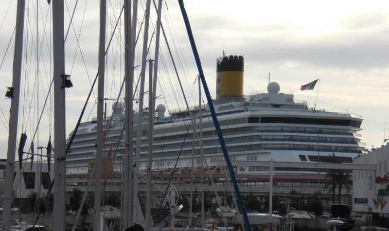 Costa Pacifica in Palma de Mallorca